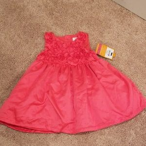 Baby girl formal dress, size 6 months
